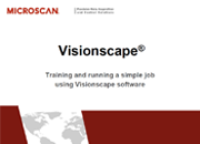Visionscape: Training and Running a Simple Job Using Visionscape Software